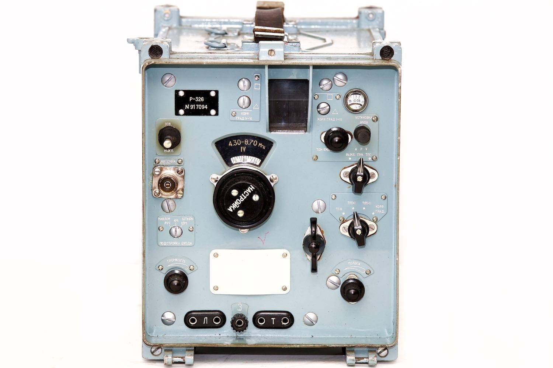R-326 - HF Receiver - Podlaskie Muzeum Techniki